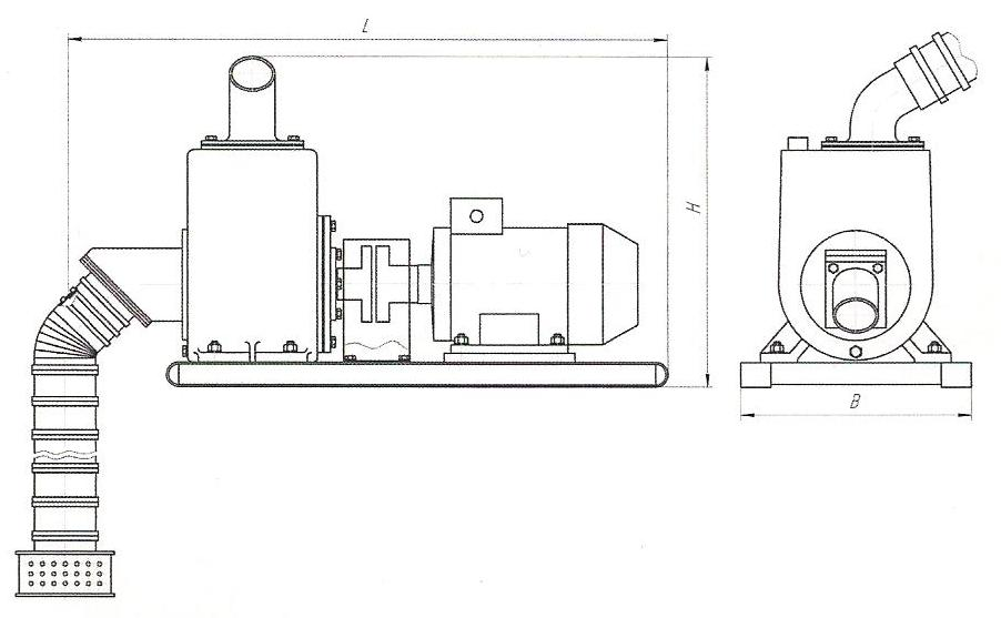 схема насоса АНС-60